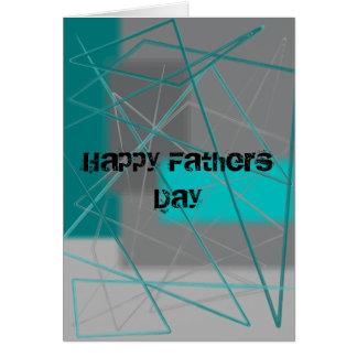 Happy Fathers Day (custom text) Card