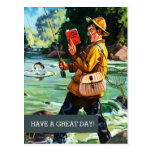 Happy Father's Day. Customizable Postcards