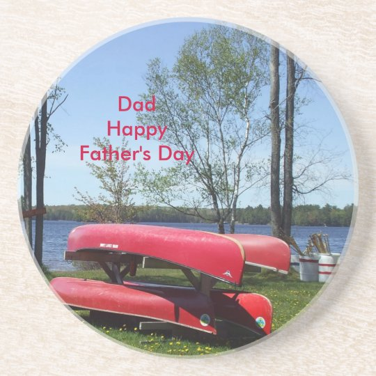 Happy Father's Day Dad Coaster