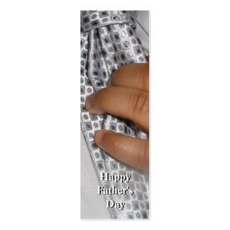 Happy Father's Day Double Sided Bookmark Mini Business Card