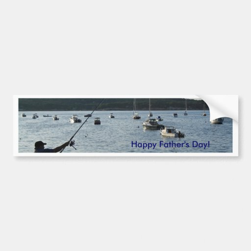 Happy Father's Day!  Fishers of men! Bumper Stickers