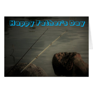 Happy Father's Day Fishing Greeting Card