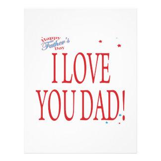 Happy Fathers Day Custom Flyer