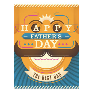 Happy Father's Day Flyer Design