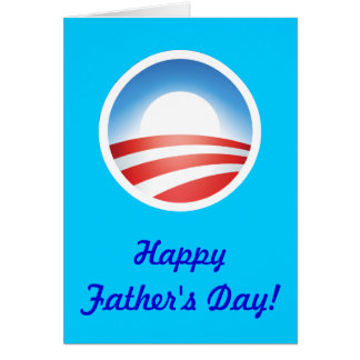 Happy Father's Day from Obama! Card