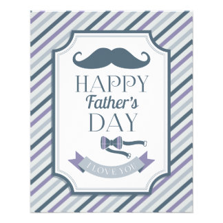 Happy Father's Day Full Color Flyer