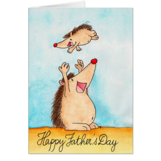 Happy Father's Day greeting card by Nicole Janes
