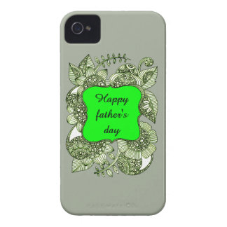 Happy Father's Day iPhone 4 Case