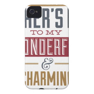 Happy Father's Day iPhone 4 Cases
