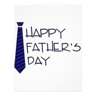 Happy Fathers Day Letterhead Design