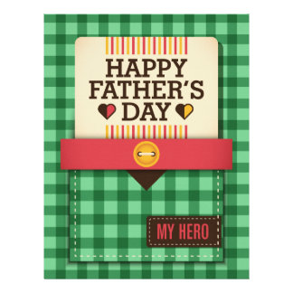 Happy Father's Day Letterhead Template