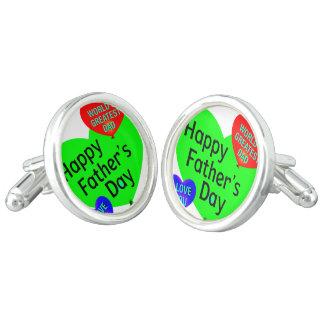 Happy Fathers Day Love Cufflinks