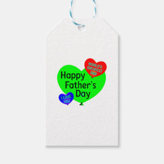 Happy Fathers Day Love Gift Tags