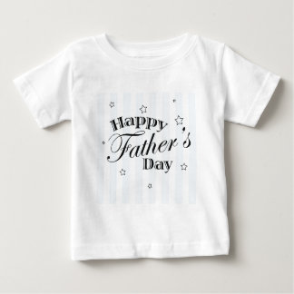 Happy Father's Day Message Tee Shirt