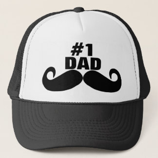 Happy Father's Day - Number 1 Dad - #1 Dad Hat