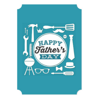 Happy Father's Day Party Invitations