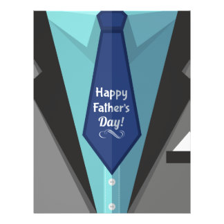 Happy Father's Day Personalized Letterhead