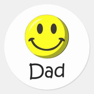 Happy Father's Day! Round Sticker