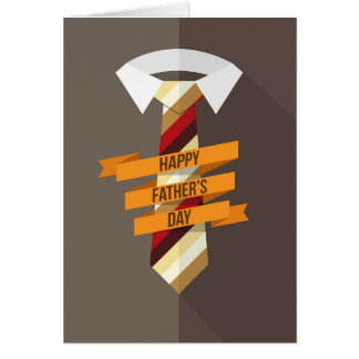 Happy Father's Day Tie Card