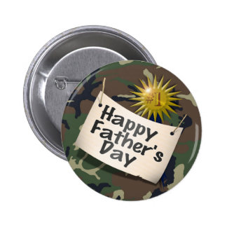 Happy Fathers Day to  my #1 Dad ! 2 Inch Round Button