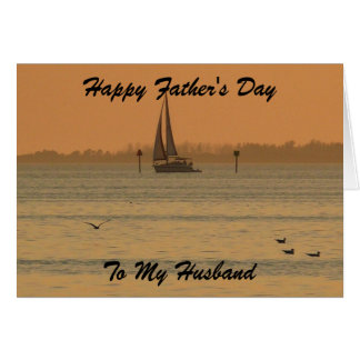 Happy Father's Day, To My Husband Card