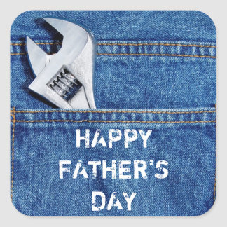 Happy Father's Day Tool Sticker
