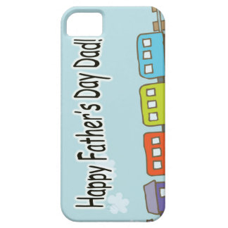 Happy Fathers Day Train iPhone 5 Case