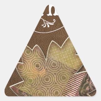 Happy-Fathers-Day Triangle Sticker