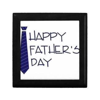 Happy Fathers Day Trinket Box
