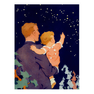 Happy Father's Day. Vintage Design Postcards
