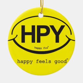 Happy Feels Good Christmas Ornament