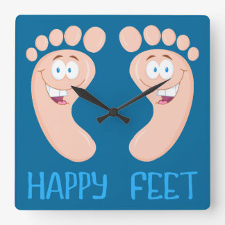 happy feet clock