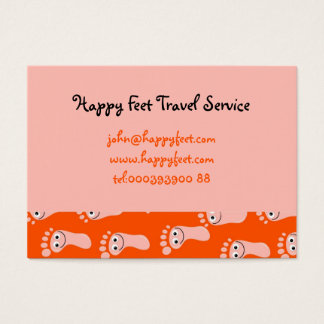 Happy Feet Wallpaper Business Card