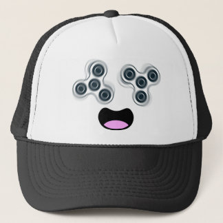 Happy Fidget Spinner Trucker Hat