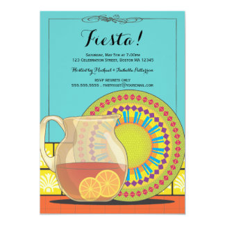 Happy Fiesta Party Invitation