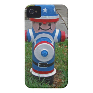 Happy FireHydrant I iPhone 4 Case-Mate Case