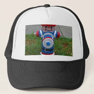 Happy FireHydrant I Trucker Hat