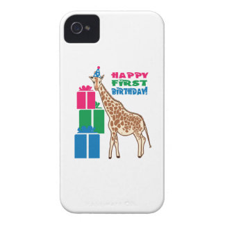 Happy First Birthday! iPhone 4 Case-Mate Case