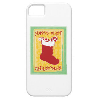 Happy First Christmas iPhone 5 Cases