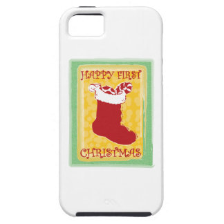 Happy First Christmas iPhone 5 Covers