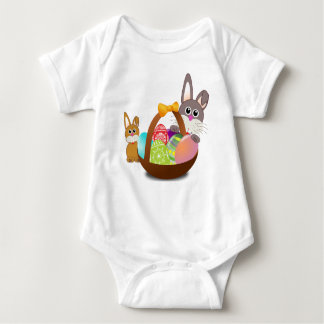 Happy First Easter Baby Bodysuit