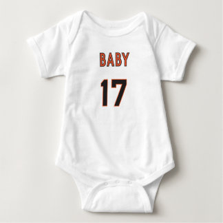 HAPPY FIRST FATHER'S DAY 2017  FOR BABY BABY BODYSUIT
