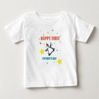HAPPY FIRST FATHER'S DAY 2017  FOR BABY BABY T-Shirt
