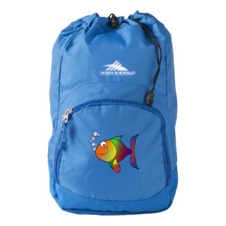 Happy fish backpack