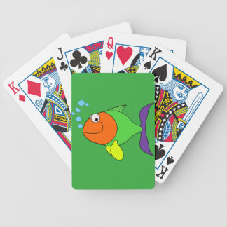 Happy Fish Bicycle Playing Cards