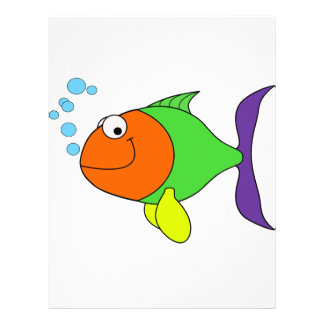 Happy Fish Letterhead