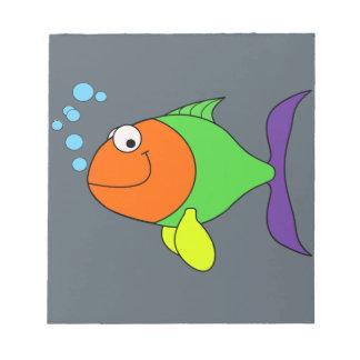Happy Fish Notepad