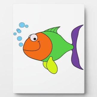 Happy Fish Plaque