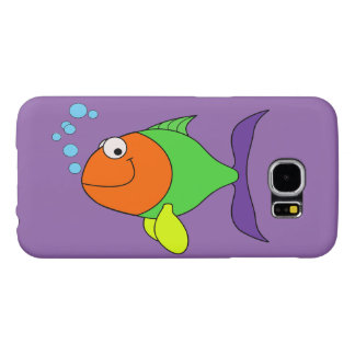 Happy Fish Samsung Galaxy S6 Cases