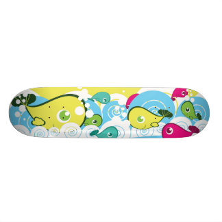 Happy Fish Skateboard